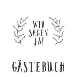 Hochzeitsgästebuch: Blätter von GmbH,  epubli