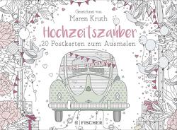 Hochzeitszauber – Postkartenbuch von Kruth,  Maren