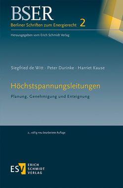 Höchstspannungsleitungen von de Witt,  Siegfried, Durinke,  Peter, Kause,  Harriet