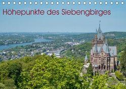 Höhepunkte des Siebengebirges (Tischkalender 2018 DIN A5 quer) von Leonhardy,  Thomas