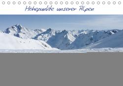 Höhepunkte unserer Alpen – Bergweh ® (Tischkalender 2021 DIN A5 quer) von Esser,  Barbara