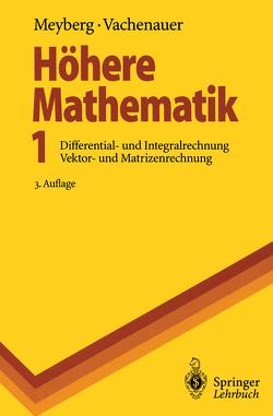 Höhere Mathematik 1 von Meyberg,  Kurt, Vachenauer,  Peter