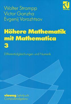 Höhere Mathematik mit Mathematica von Ganzha,  Victor, Strampp,  Walter, Vorozhtsov,  Evgenij V.
