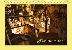 Höhlenwelten (Tischkalender 2021 DIN A5 quer) von Schneller,  Helmut