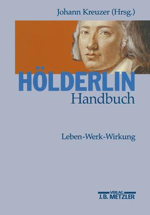 Hölderlin-Handbuch von Kreuzer,  Johann