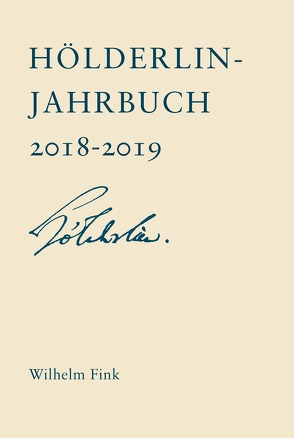 Hölderlin-Jahrbuch von Doering,  Sabine, Kreuzer,  Johann, Voehler,  Martin