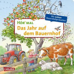 Hör mal (Soundbuch): Das Jahr auf dem Bauernhof von Möller,  Anne