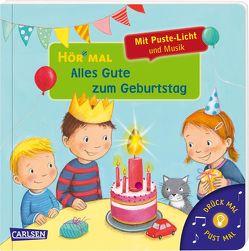 Hör mal (Soundbuch): Mach mit – Pust aus: Alles Gute zum Geburtstag von Hofmann,  Julia, Vogel,  Heike