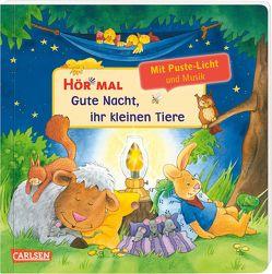 Hör mal (Soundbuch): Mach mit – Pust aus: Gute Nacht, ihr kleinen Tiere – ab 2 Jahren von Schuld,  Kerstin M.