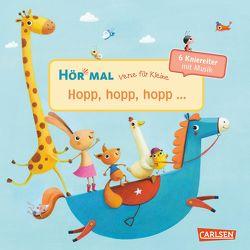 Hör mal (Soundbuch): Verse für Kleine: Hopp, hopp, hopp … – ab 18 Monaten von Diverse, Rachner,  Marina