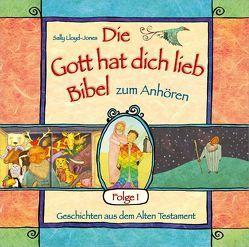 """Hörbuch: """"Die Gott hat dich lieb""""-Bibel zum Anhören (1) von Kuhn,  Karo, Lloyd-Jones,  Sally, Schepmann,  Philipp, Schier,  Tobias, Schuffenhauer,  Tobias"""