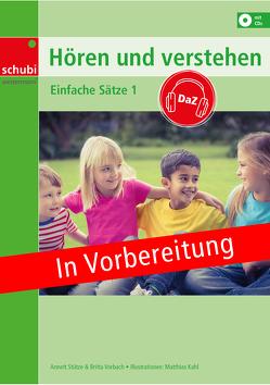 Hören und Verstehen DaZ von Stützer,  Annett, Vorbach,  Britta
