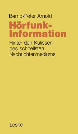 Hörfunk-Information von Arnold,  Bernd-Peter