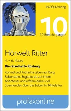 Hörwelt Ritter – Die rätselhafte Rüstung – profaxonline