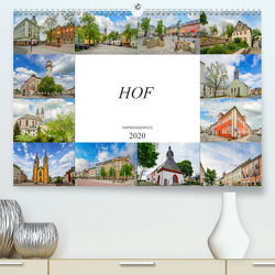 Hof Impressionen (Premium, hochwertiger DIN A2 Wandkalender 2020, Kunstdruck in Hochglanz) von Meutzner,  Dirk