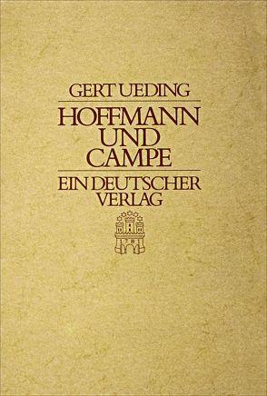 Hoffmann und Campe – Ein deutscher Verlag von Ueding,  Gert