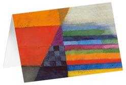Hoffnung – Kunst-Faltkarten mit Text (5 Stück) von Felger,  Andreas
