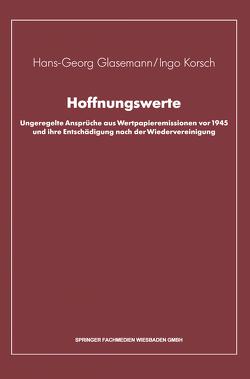 Hoffnungswerte von Glasemann,  Hans-Georg, Korsch,  Ingo