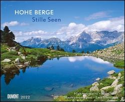 Hohe Berge – Stille Seen 2022 – Wandkalender 52 x 42,5 cm – Spiralbindung