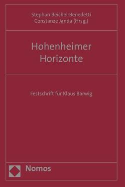 Hohenheimer Horizonte von Beichel-Benedetti,  Stephan, Janda,  Constanze