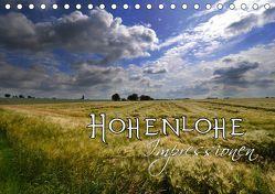 Hohenlohe Impressionen (Tischkalender 2019 DIN A5 quer) von Mathias,  Simone