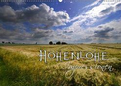 Hohenlohe Impressionen (Wandkalender 2018 DIN A2 quer) von Mathias,  Simone