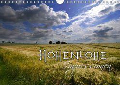 Hohenlohe Impressionen (Wandkalender 2019 DIN A4 quer) von Mathias,  Simone