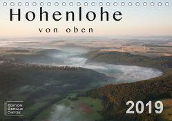 Hohenlohe von oben (Tischkalender 2019 DIN A5 quer) von Dietze,  Gerald
