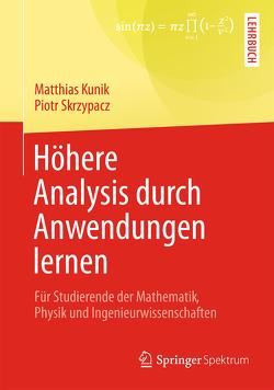 Höhere Analysis durch Anwendungen lernen von Kunik,  Matthias, Skrzypacz,  Piotr
