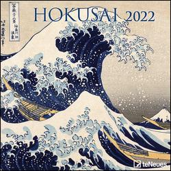 Hokusai 2022 – Wand-Kalender – Broschüren-Kalender – 30×30 – 30×60 geöffnet – Kunst-Kalender von Hokusai,  Katsushika