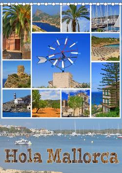 Hola Mallorca (Tischkalender 2021 DIN A5 hoch) von Michalzik,  Paul