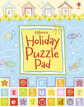 Holiday Puzzle Pad von Clarke,  Phillip, Maynard,  Marc