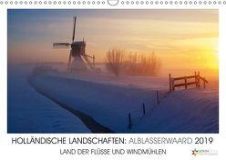 HOLLÄNDISCHE LANDSCHAFTEN: ALBLASSERWAARD 2019 (Wandkalender 2019 DIN A3 quer) von Stuij,  John