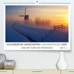 HOLLÄNDISCHE LANDSCHAFTEN: ALBLASSERWAARD 2020 (Premium, hochwertiger DIN A2 Wandkalender 2020, Kunstdruck in Hochglanz) von Stuij,  John
