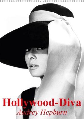 Hollywood-Diva – Audrey Hepburn (Wandkalender 2018 DIN A2 hoch) von Stanzer,  Elisabeth
