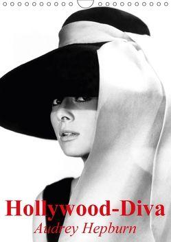 Hollywood-Diva – Audrey Hepburn (Wandkalender 2018 DIN A4 hoch) von Stanzer,  Elisabeth