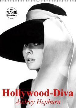 Hollywood-Diva. Audrey Hepburn (Wandkalender 2019 DIN A2 hoch) von Stanzer,  Elisabeth