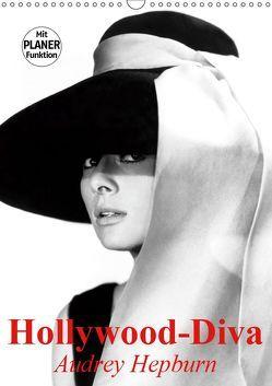 Hollywood-Diva. Audrey Hepburn (Wandkalender 2019 DIN A3 hoch) von Stanzer,  Elisabeth