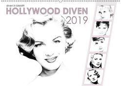 Hollywood Diven in Bleistift 2019 (Wandkalender 2019 DIN A2 quer) von Richter,  Dirk