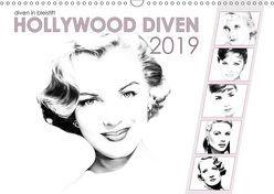 Hollywood Diven in Bleistift 2019 (Wandkalender 2019 DIN A3 quer) von Richter,  Dirk