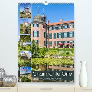 HOLSTEINISCHE SCHWEIZ Charmante Orte (Premium, hochwertiger DIN A2 Wandkalender 2020, Kunstdruck in Hochglanz) von Viola,  Melanie