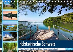 Holsteinische Schweiz – Fünf-Seen-Landschaft (Tischkalender 2019 DIN A5 quer) von Dreegmeyer,  Andrea
