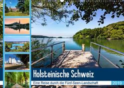 Holsteinische Schweiz – Fünf-Seen-Landschaft (Wandkalender 2019 DIN A2 quer) von Dreegmeyer,  Andrea