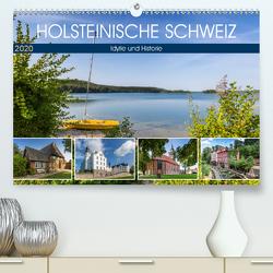 HOLSTEINISCHE SCHWEIZ Idylle und Historie (Premium, hochwertiger DIN A2 Wandkalender 2020, Kunstdruck in Hochglanz) von Viola,  Melanie