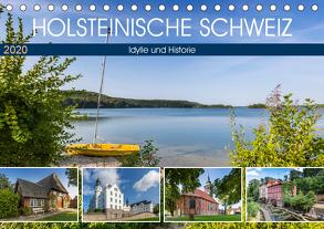 HOLSTEINISCHE SCHWEIZ Idylle und Historie (Tischkalender 2020 DIN A5 quer) von Viola,  Melanie