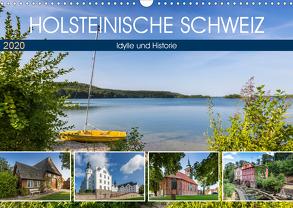 HOLSTEINISCHE SCHWEIZ Idylle und Historie (Wandkalender 2020 DIN A3 quer) von Viola,  Melanie