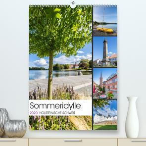 HOLSTEINISCHE SCHWEIZ Sommeridylle (Premium, hochwertiger DIN A2 Wandkalender 2020, Kunstdruck in Hochglanz) von Viola,  Melanie
