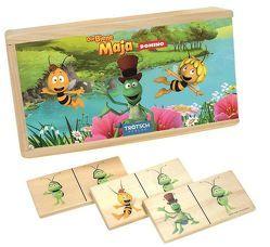 """Holz-Domino """"Die Biene Maja"""""""