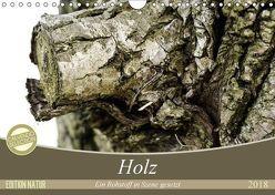Holz. Ein Rohstoff in Szene gesetzt (Wandkalender 2018 DIN A4 quer) von Kislat,  Gabriele