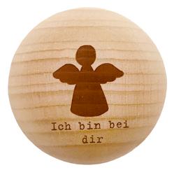 Holz-Handschmeichler – Ich bin bei dir – Dein Schutzengel
